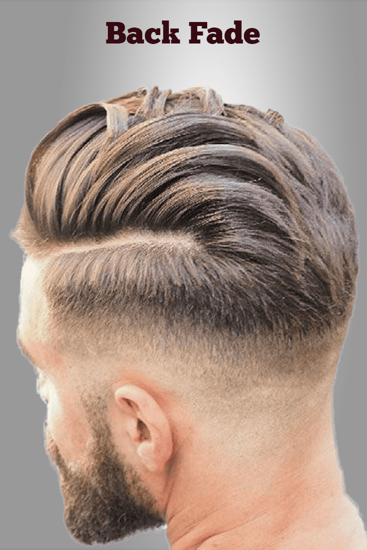 14 Back Fade Hairstyle - Smart & Charming Look | Men\'s ...