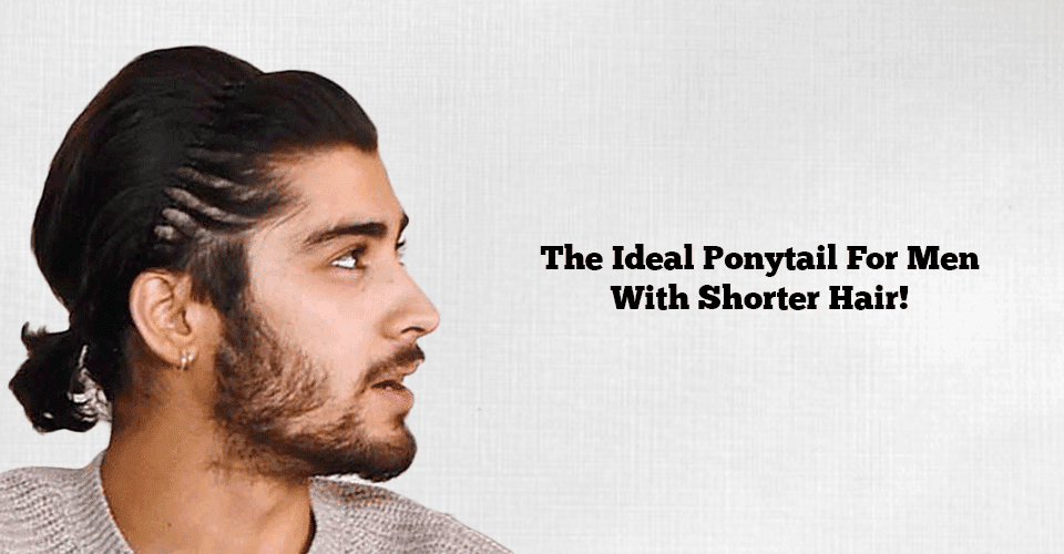 Few Ideal Ponytail Hairstyle For Stylish Men With Short Hair