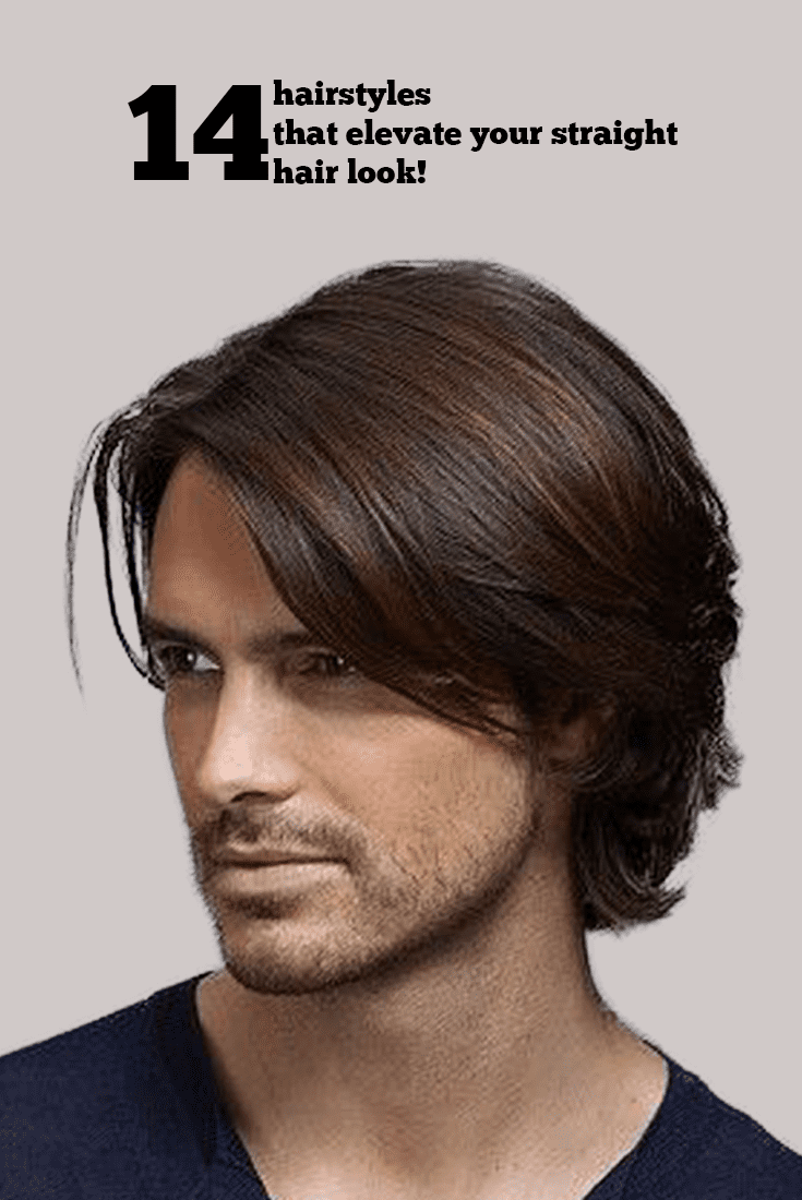 Few Popular Straight Hairstyles For Men - Straight hair styles for men