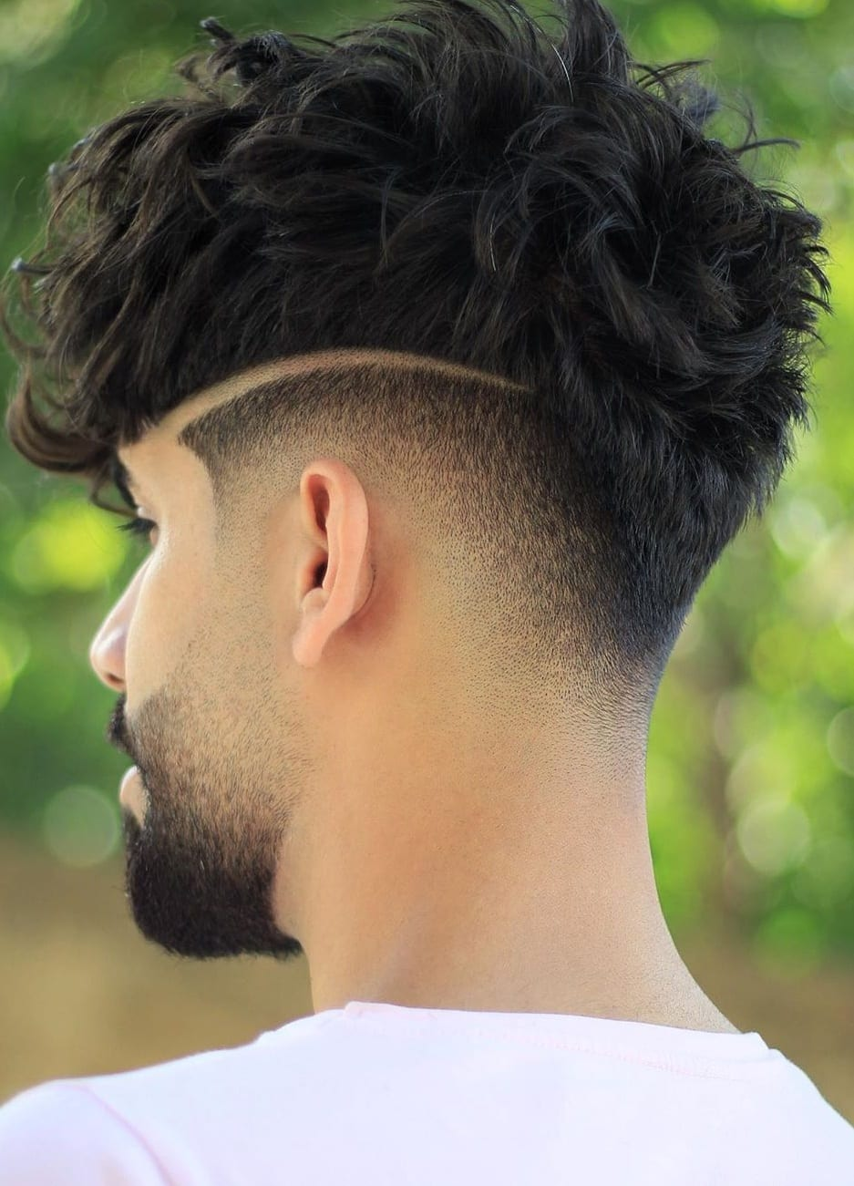 Back Fade Haircut Style For Men Mens Hairstyle 2020