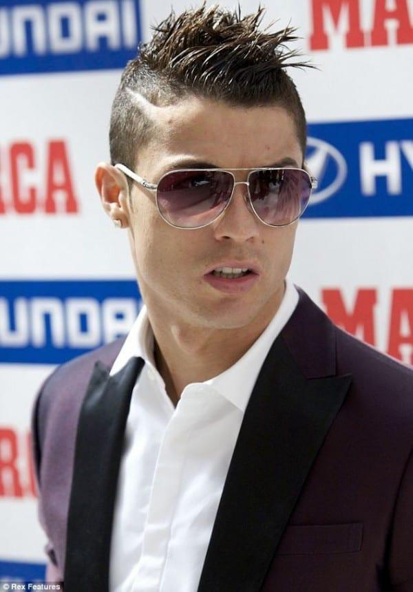 Cristiano Ronaldo Mens Hairstyle 2018