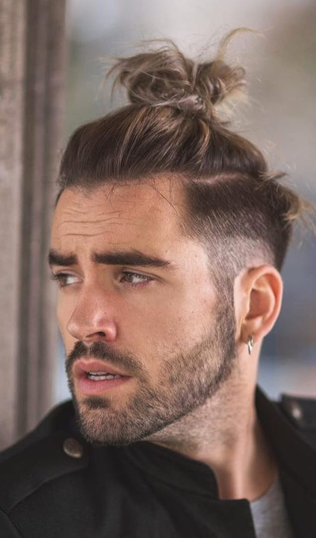 Ponytail Hairstyles For Men 2019 Mens Hairstyle 2020