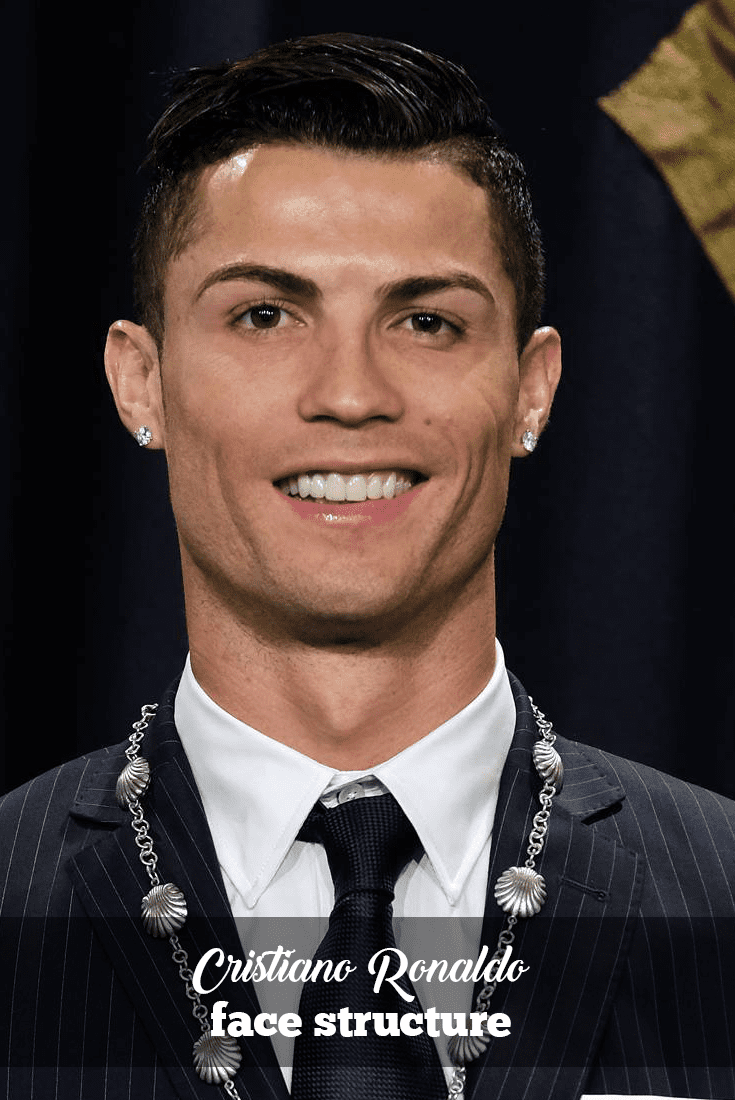hairstyles complimenting cristiano ronaldo's face structure