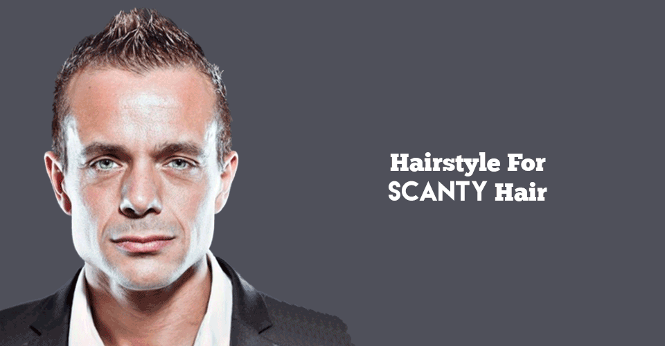 Hair Styles For Boys: Hairstyles For Scanty Hair